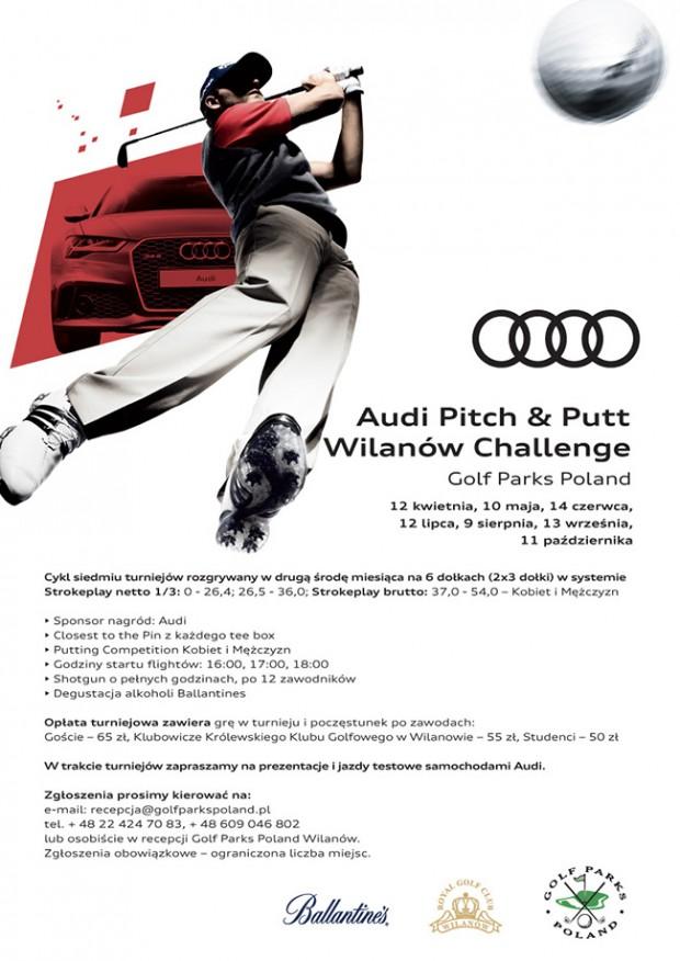 Audi Pitch&Putt Wilanów Challenge