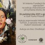 zaproszenie aukcja charytatywna Fundacji Godnie Żyć